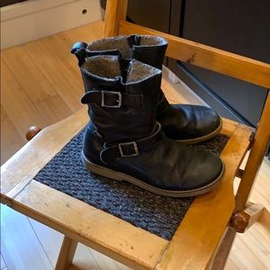 Froddo Black Waterproof Biker Boots